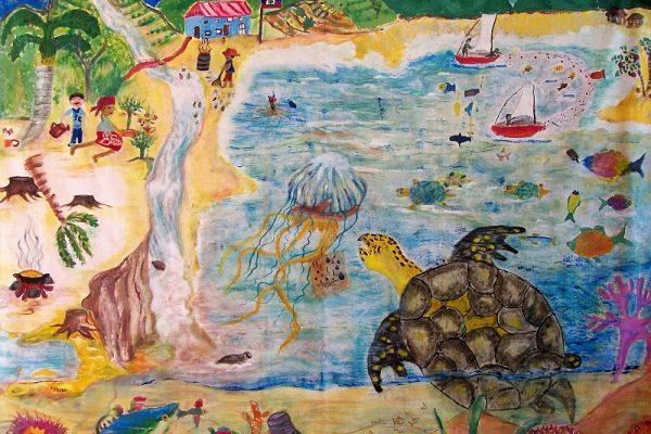 300 Murale Internationale Haiti